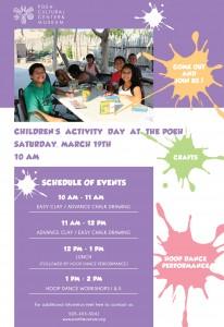 Children's Activity Day Flyer